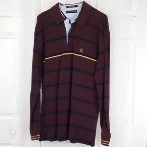 Tommy Hilfiger sz XL striped polo shirt